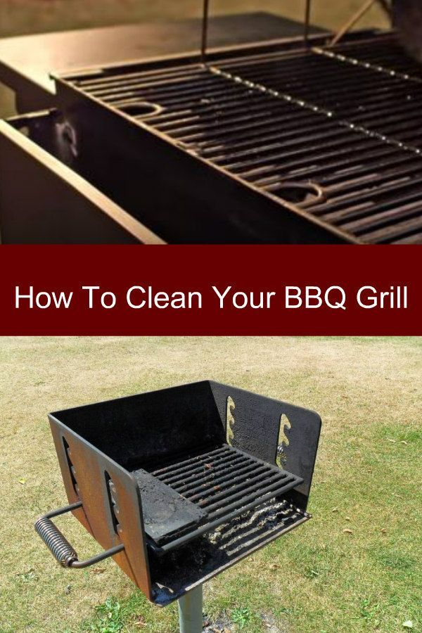 How To Clean Your Bbq Grill Cleaning