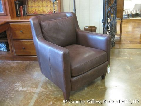 Brown Leather Club Chair Country Willow Furniture Leather Sofas Chairs Sectionals