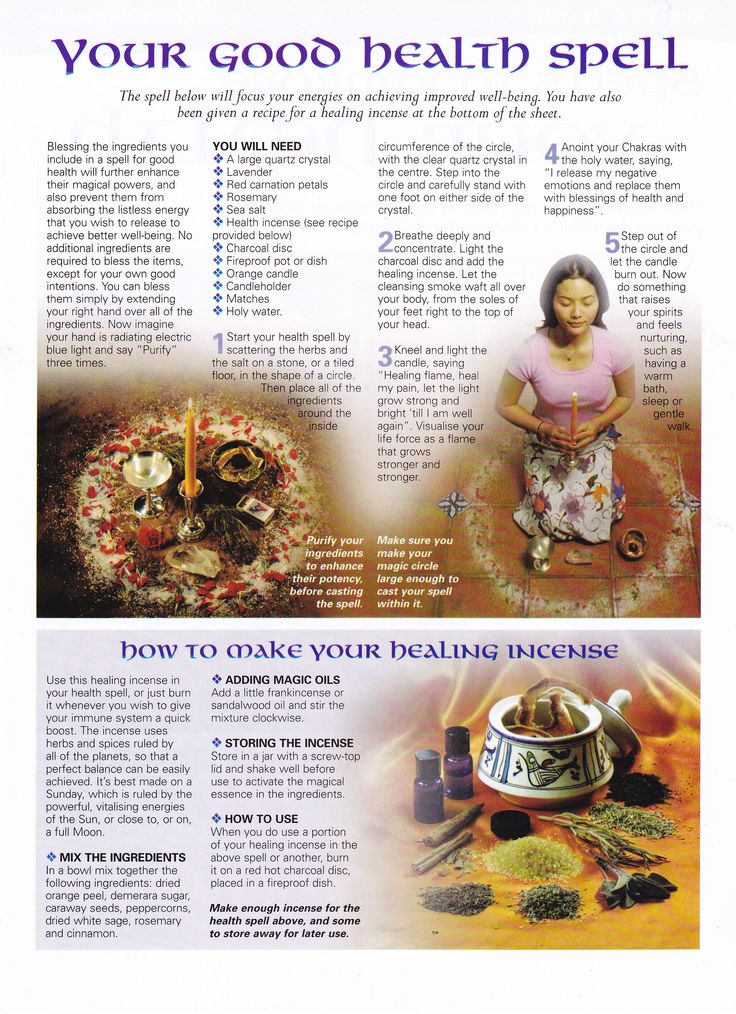 Magick Spells:  Your Good Health #Spell.