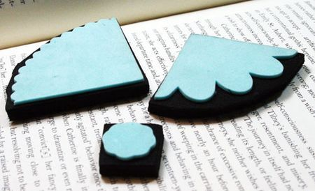 a great tutorial on making homemade foam stamps from 'Balzer Designs' blog