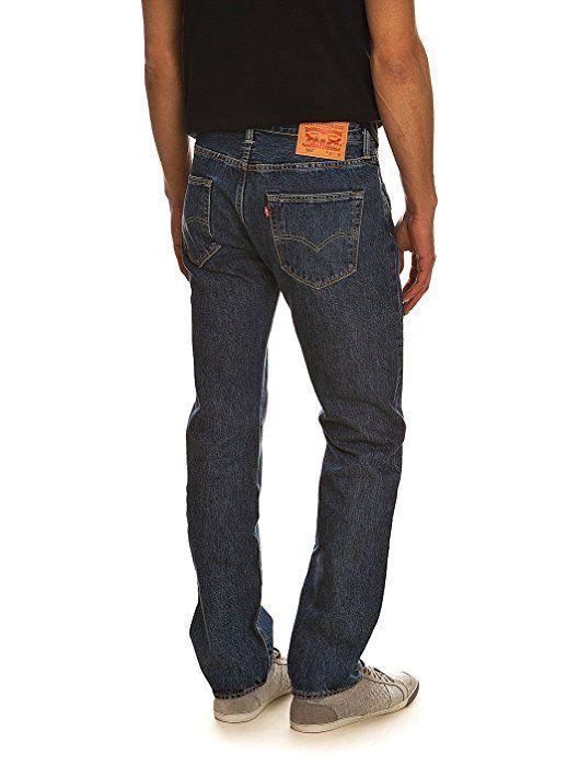 Levi's 501 Original Fit Men's Jeans, Blue (Stonewash), 33W ...