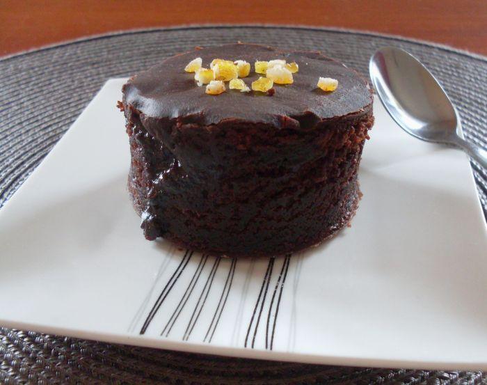 Chocolate cake with coca cola ...