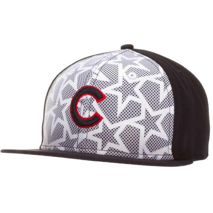 Chicago Cubs Navy and White 2016 On-Field Fourth of July Flat Bill Fitted Hat by New Era #Chicago #Cubs #ChicagoCubs