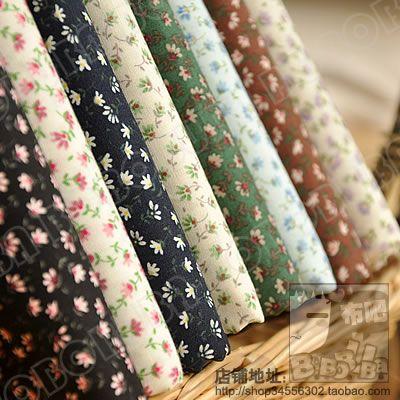 Купить товарFc029 цветок хлопка печатает хлопчатобумажной ткани полный хлопчатобумажной ткани костюмеры поплина ручной работы сделай сам в категории Тканьна AliExpress. материал:100% хлопок       размер: 45см * 50 см/шт. (17.7 дюйм(ов) *19.7дюймов/шт)        пакет:один стиль,