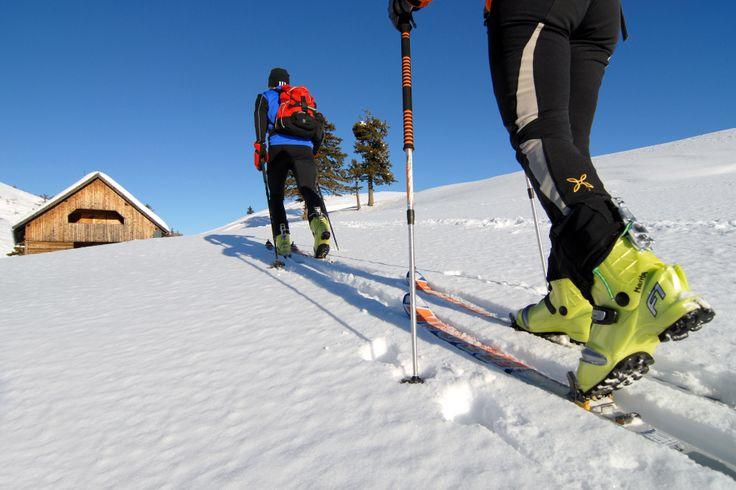 Ein tolles Skitouren Gebiet, sehr beliebt auch bei Einheimischen. Region Villach.