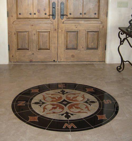Marble floors marble natural stone for kerala floors for Kerala foyer designs