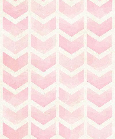 Pink Watercolor Chevron | I Got Lucky Inspiration                              …