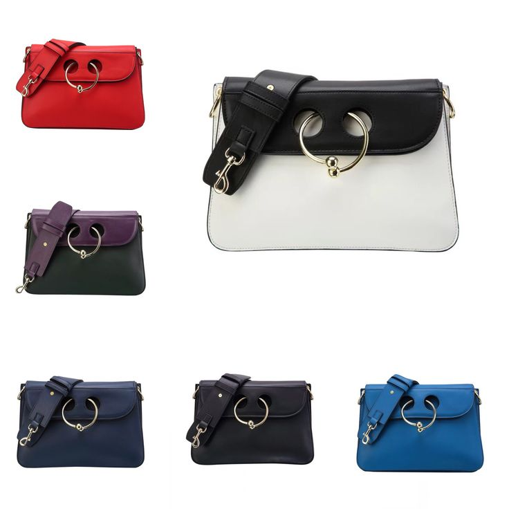 #Europe and the #United States #fashion #cow #nose #ring #leather #shoulder #diagonal package hit color fashion #clutch #bag leather #dinner bag