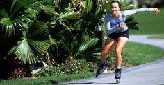 Andar de patins emagrece muito e ajuda a tornear o bumbum e deixar a barriga seca