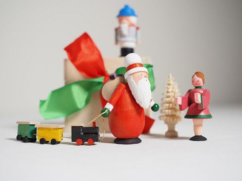 Minature nutcrackers in box – Adornare premium Christmas range from Bettina Franke