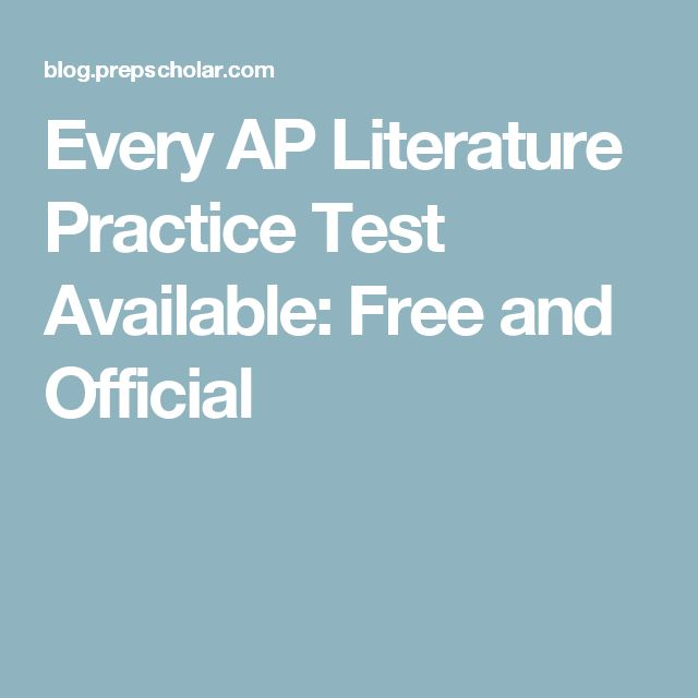 essay prompts for ap english literature Ap® english literature and composition 2013 free-response questions this question counts as one-third of the total essay section score.