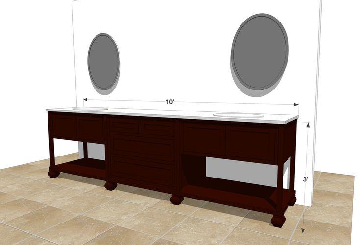 42 best millwork drawings images on pinterest bath for Sketchup bathroom sink