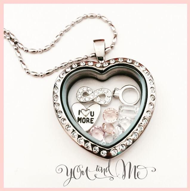 Valentine's Locket for your sweetheart, fiancée and/or wife.