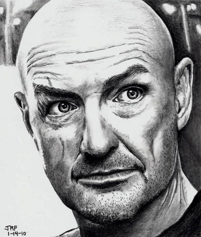 Terry O'Quinn as John Locke by Doctor-Pencil.deviantart.com on @DeviantArt ____ ¡ LOST !