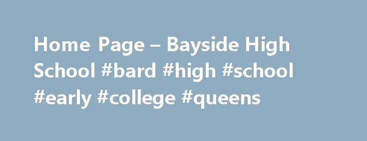 "Home Page – Bayside High School #bard #high #school #early #college #queens http://coupons.nef2.com/home-page-bayside-high-school-bard-high-school-early-college-queens/  # Bayside High School Regents Videos: 30% off of the following online video series Bayside High School PTA will receive a $20 donation in return for every sale that comes directly off of any of these 4 website pages: For ""30 Ways to Pass the Algebra 1 Common Core Regents!"" ($41.30 instead of $59)…"