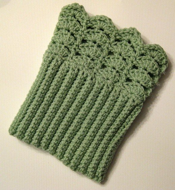 Belmont Boot Toppers Free Crochet Pattern
