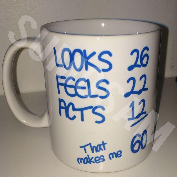 That Makes Me 60 Funny 60th Birthday Funny Novelty Mug Gift Idea