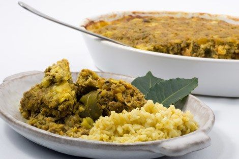 This would be a hot contender for South Africa's national dish! The recipe was selected for an international recipe book published in 1951 by the United Nations Organisation. Bobotie is a Cape-Malay creation, and they spice it up even more with cumin, coriander and cloves. A similar dish was known in Europe in the middle ages after the Crusaders had brought turmeric from the East. When our first Dutch settlers arrived, Holland was largely influenced by Italian cooks, and a favorite dish w...