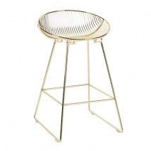 Pop Bar Stool - Metallics