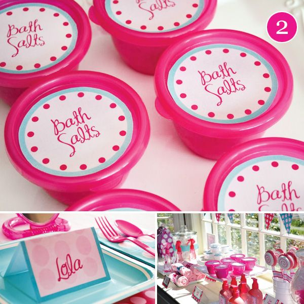 Spa Party Ideas For Girls Birthday