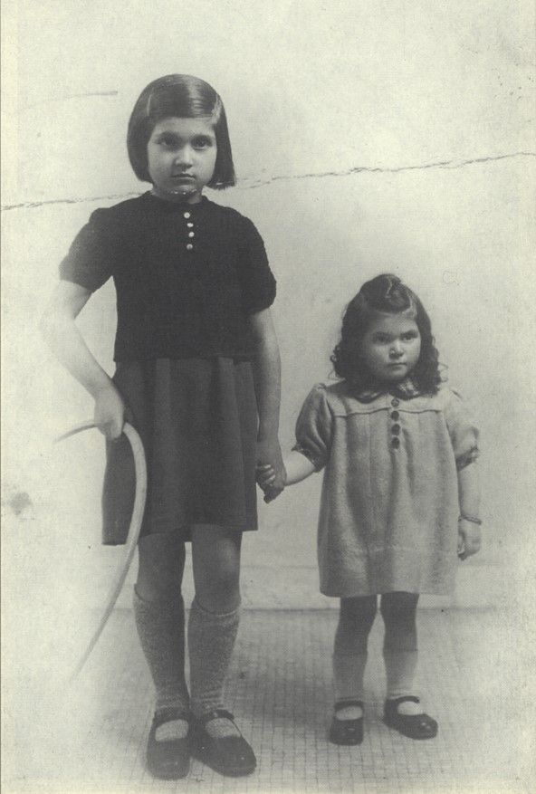 2 year old Henriette Kagan and her 9 year old sister Jeanette were murdered in Auschwitz on 8-25-42 by Germans.
