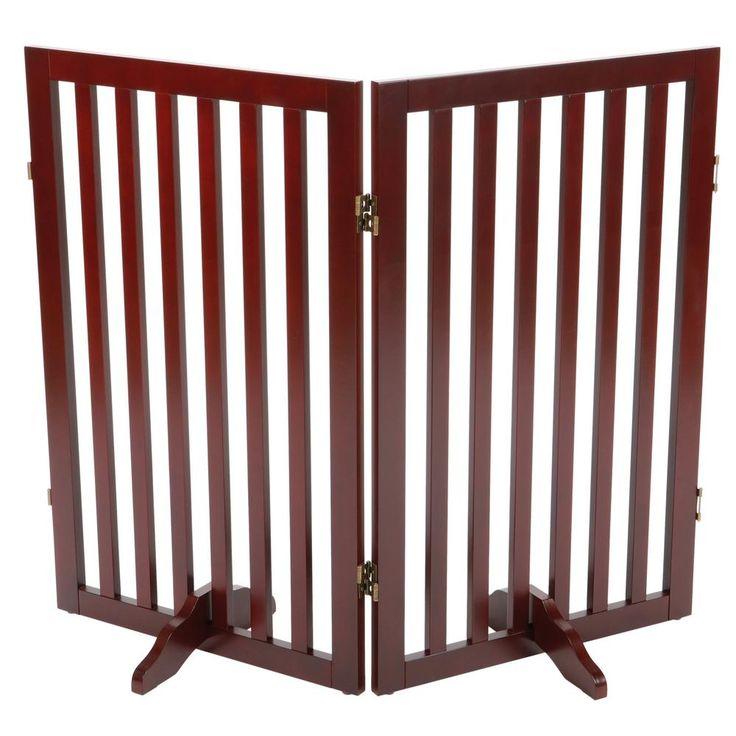 2 Part Convertible Wooden Dog Gate Extension
