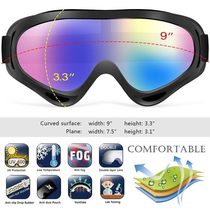 Goes Here Jet Ski Goggles Polarized Unisex Glasses Motorcycle Boys & Girls Men & Women Ski Description Jet Ski Goggles Polarized&n
