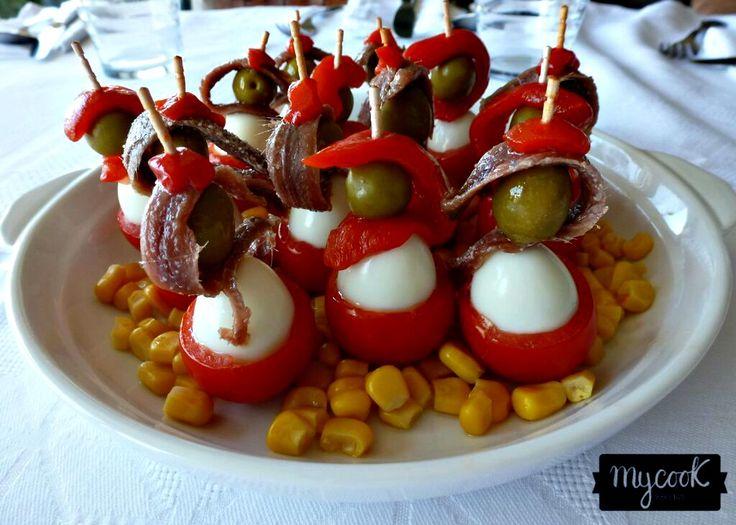 Banderillas de huevo de codorniz - http://www.mycookrecetas.com/banderillas-de-huevo-de-codorniz/