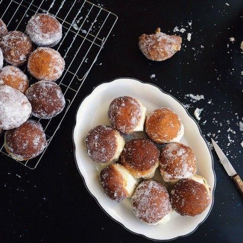 Sunday #FoodPorn: Decadent Desserts – Vogue - Sugared doughnuts with custard