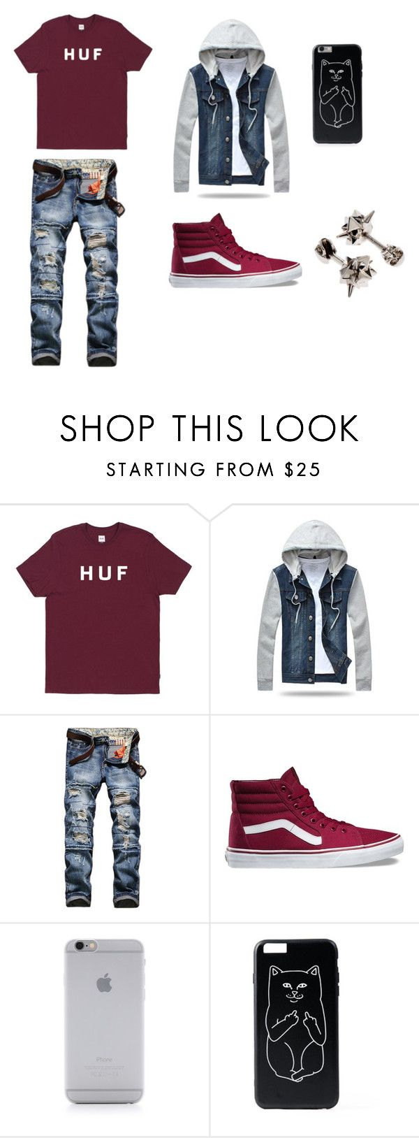 """""""SHANNON'S STYLE FOR BOYS 2"""" by tomboy-1-lol ❤ liked on Polyvore featuring HUF, Vans, Native Union, Alexander McQueen, men's fashion and menswear"""
