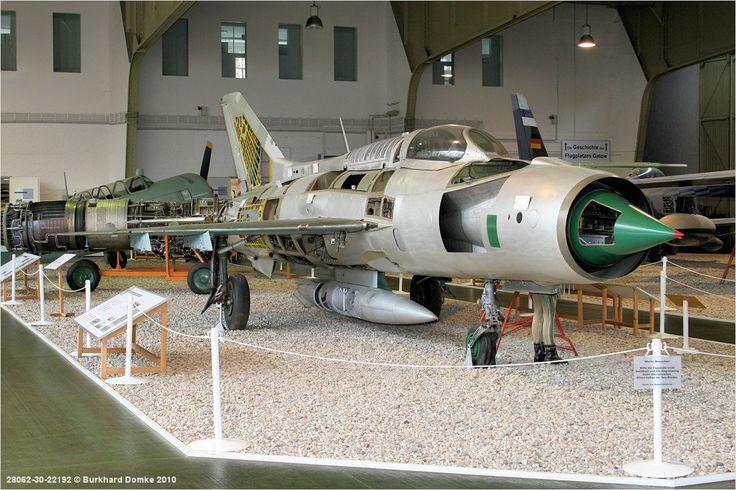 MiG-21PFM luftwaffenmuseu Museum