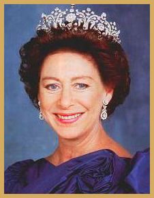 Princess Margaret, Countess of Snowdon (21 August 1930--9 February 2002), 2nd daughter and youngest child of King George VI and his consort Queen Elizabeth (nee Elizabeth Bowes-Lyon) and only sibling of Queen Elizabeth II.  King George VI called Elizabeth his pride and Margaret his joy.  In adulthood, Margaret would be overshadowed somewhat by her older sister.  A lifelong smoker and a heavy drinker later in life, Margaret died at age 71 in 2002, the same year her mother passed away at 101.