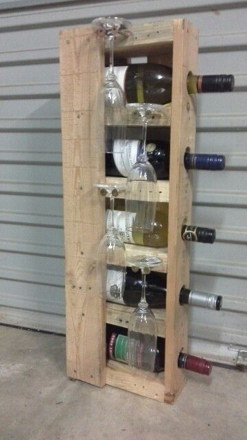 Wine rack. Work in progress,  still in need of a and a coat of clear!