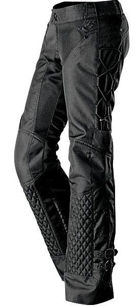 Womens Motorcycle Pant Savannah in black