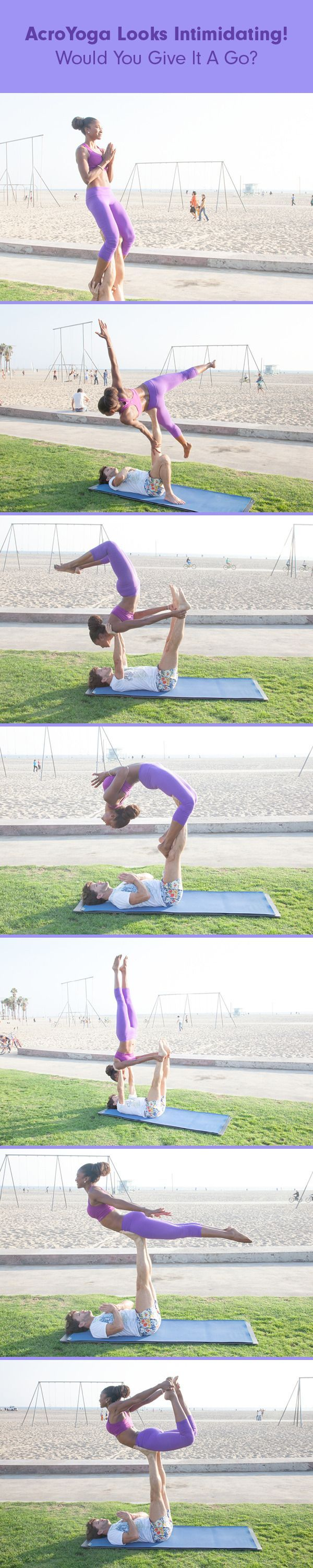 AcroYoga Looks Intimidating! Would You Give It A Go?.  See more at the image