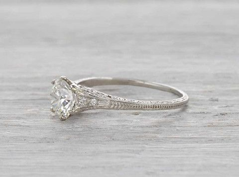 b61a0046b 1.10 CARAT TIFFANY & CO. VINTAGE ENGAGEMENT RING CIRCA 1905 | Tiffany & Co. Vintage  Engagement Rings in 2019 | Engagement rings, Tiffany wedding rings, ...