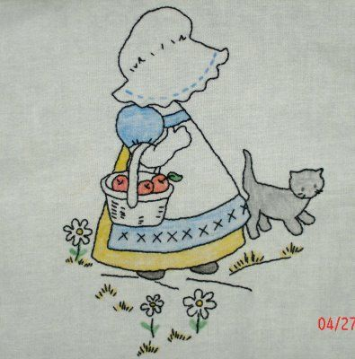 sunbonnet sue embroidery patterns   Sunbonnet Sue patterns are my favorite traditional quilt patterns. I ...
