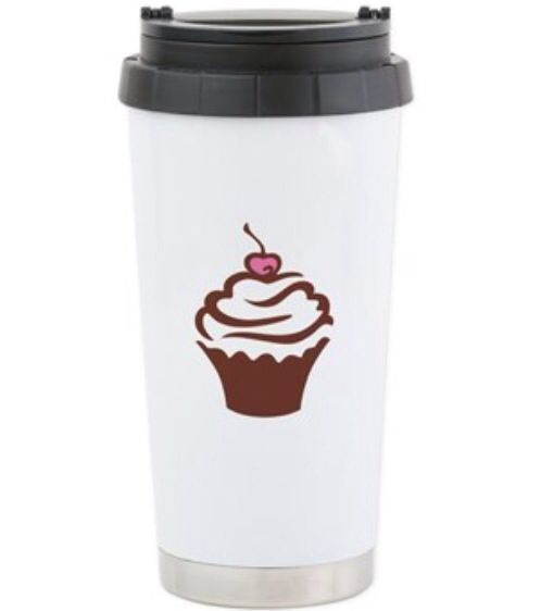 I love coffe Thermos Mug  http://www.cafepress.com/miintorto.1587553820  Keep your beverage hot or cold with our stainless steel travel mug featuring double-wall vacuum insulation technology. Top handles make it easy to carry when you're on the go.