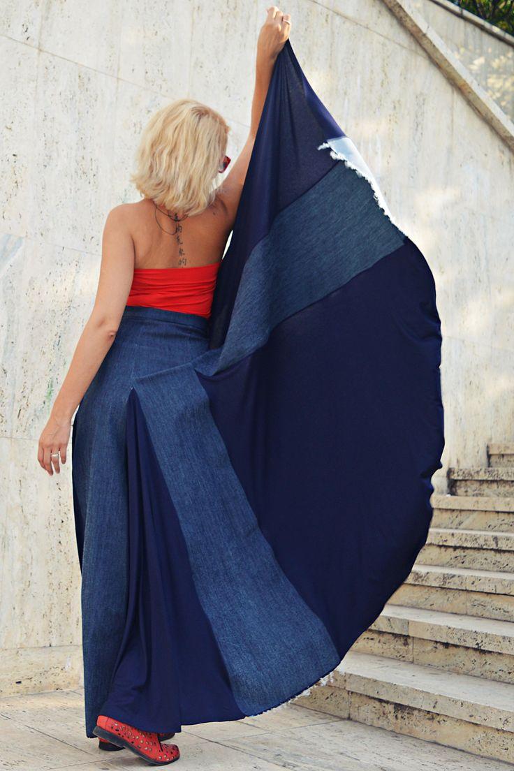 Just launched! Denim Navy Skirt, Cropped Denim Skirt, Extravagant Denim Skirt, Long Tailed Denim Skirt, High Waist Denim Skirt TS22 by TEYXO https://www.etsy.com/listing/549457295/denim-navy-skirt-cropped-denim-skirt?utm_campaign=crowdfire&utm_content=crowdfire&utm_medium=social&utm_source=pinterest