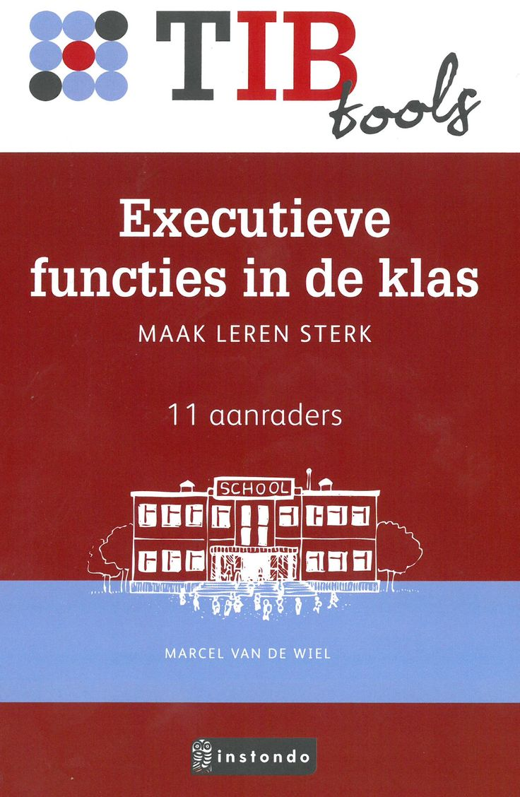Boek mbt executieve functies in het bezit van Emiel van Doorn