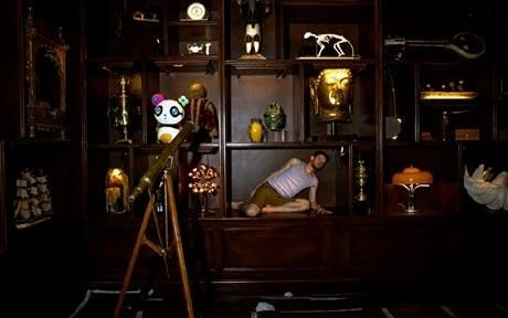 Punchdrunk theatre company opens Louis Vuitton's new Bond Street store: The collector's room