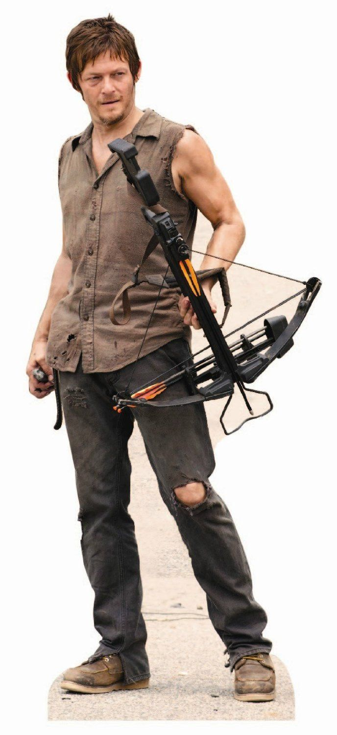 The Walking Dead Daryl Dixon Life Size Stand Up Cutout