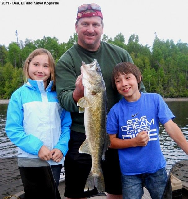 great walleye dad!