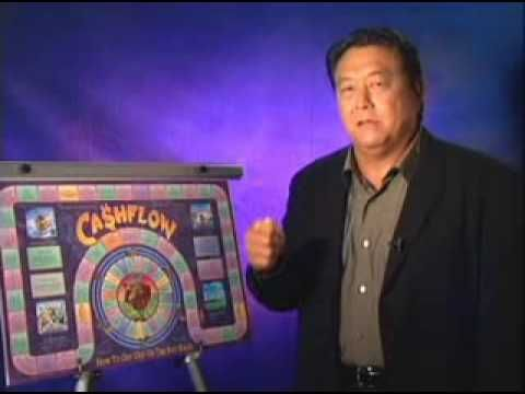Robert Kiyosaki představuje hru Cashflow 101
