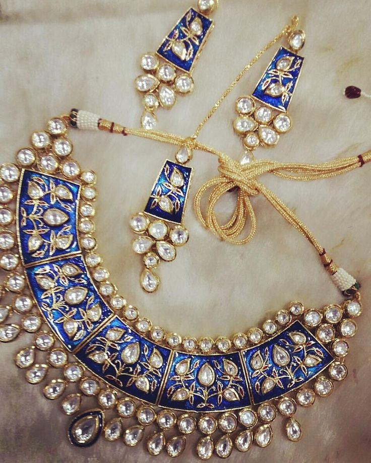 Make to order 24 carat gold plated wedding jewellery. 4 color options available…