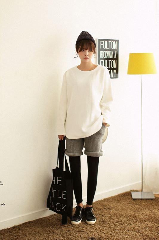 #pants #short pants #dahong #knit pants #best item #casual #바지 #숏팬츠 #니트팬츠