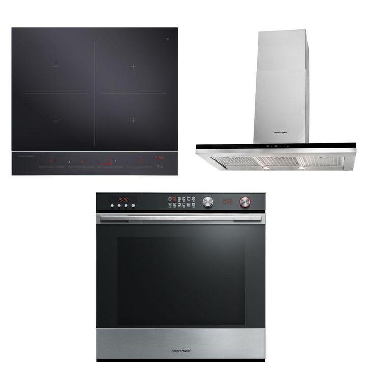 Fisher & Paykel Wall Oven, Induction Cooktop & Rangehood $5499.00 from Noel Leeming