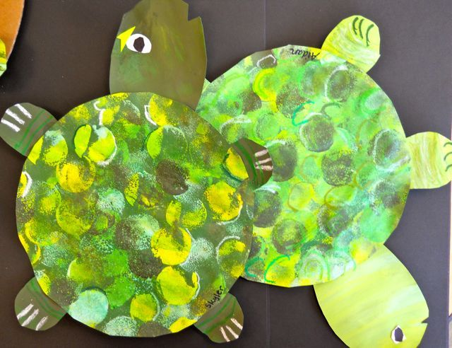 turtle activities for preschoolers   Under the Sea with Picasso and Me- Turtles and Tints