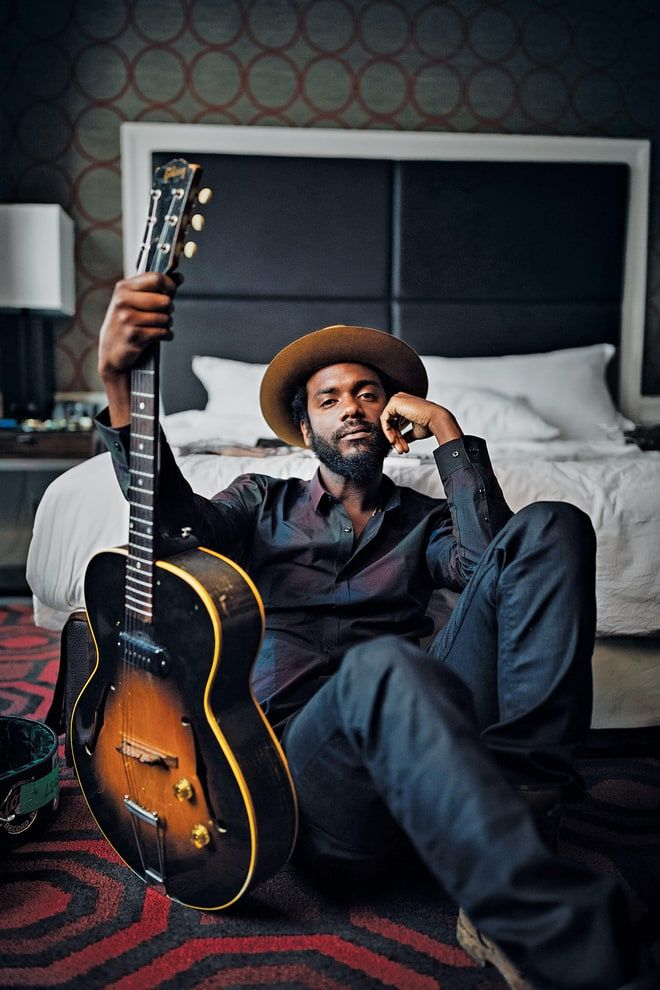 """""""I've had that one since I was 19 or 20, Old Faithful."""" -Gary Clark Jr. on his 1953 Gibson guitar"""