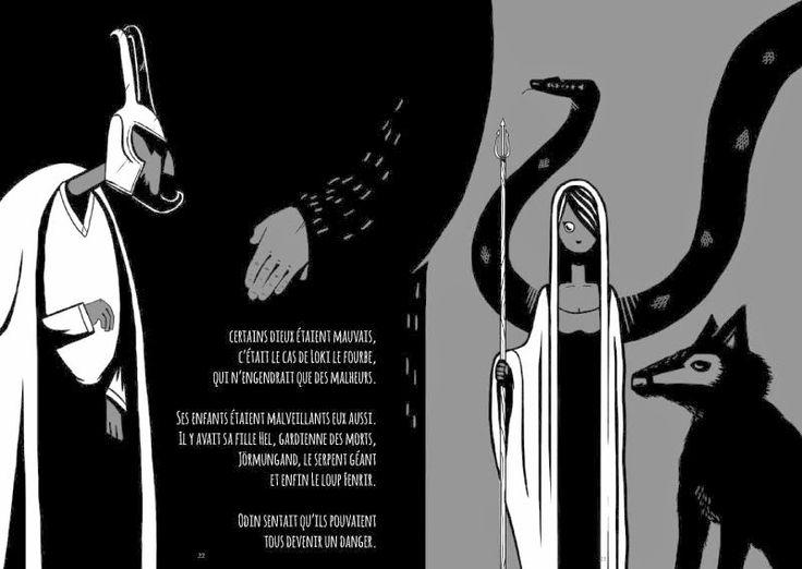 Black Beards - Les enfants de Loki (Graphic Novel by Marc Brouillon)